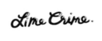 Lime Crime brand logo for reviews of online shopping for Personal care products