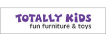 Totally Kids brand logo for reviews of online shopping for Homeware products